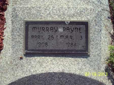 PAYNE, MURRAY - Labette County, Kansas | MURRAY PAYNE - Kansas Gravestone Photos