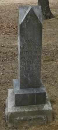 PHILLIPS, MARY FRANCIS - Labette County, Kansas | MARY FRANCIS PHILLIPS - Kansas Gravestone Photos