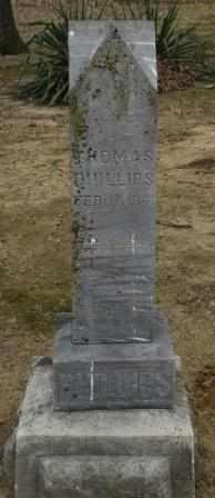 PHILLIPS, THOMAS - Labette County, Kansas | THOMAS PHILLIPS - Kansas Gravestone Photos