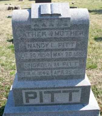 PITT, SNOWDEN MENEFEE - Labette County, Kansas | SNOWDEN MENEFEE PITT - Kansas Gravestone Photos