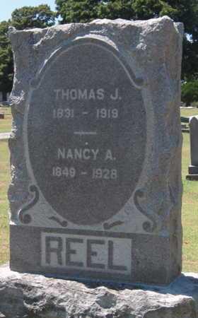REEL, NANCY A - Labette County, Kansas | NANCY A REEL - Kansas Gravestone Photos