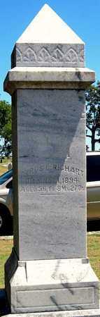 RICHART, CYRUS C - Labette County, Kansas   CYRUS C RICHART - Kansas Gravestone Photos