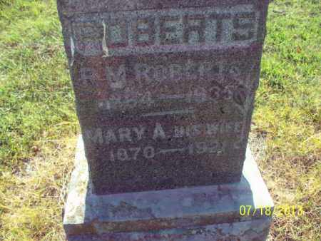 ROBERTS, MARY A - Labette County, Kansas | MARY A ROBERTS - Kansas Gravestone Photos