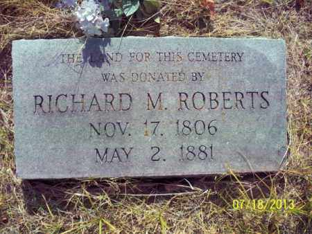 ROBERTS, RICHARD M - Labette County, Kansas | RICHARD M ROBERTS - Kansas Gravestone Photos
