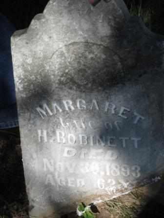ROBINETT, MARGARET - Labette County, Kansas   MARGARET ROBINETT - Kansas Gravestone Photos