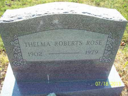ROSE, THELMA - Labette County, Kansas | THELMA ROSE - Kansas Gravestone Photos