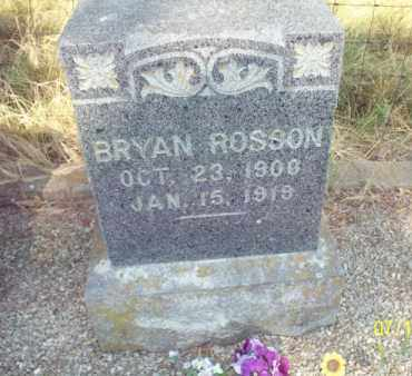 ROSSON, BRYAN - Labette County, Kansas | BRYAN ROSSON - Kansas Gravestone Photos