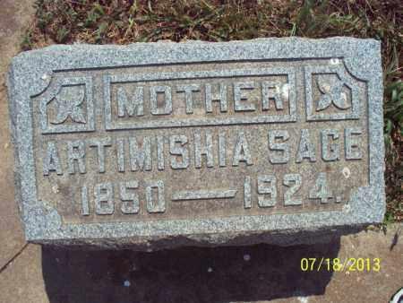 SAGE, ARTIMISHIA - Labette County, Kansas | ARTIMISHIA SAGE - Kansas Gravestone Photos