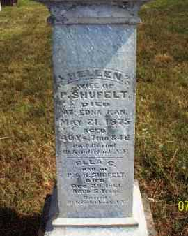 SHUFELT, HELLEN - Labette County, Kansas | HELLEN SHUFELT - Kansas Gravestone Photos