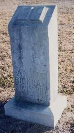MASTERS   BICKHAM, ANNA MARY - Labette County, Kansas | ANNA MARY MASTERS   BICKHAM - Kansas Gravestone Photos