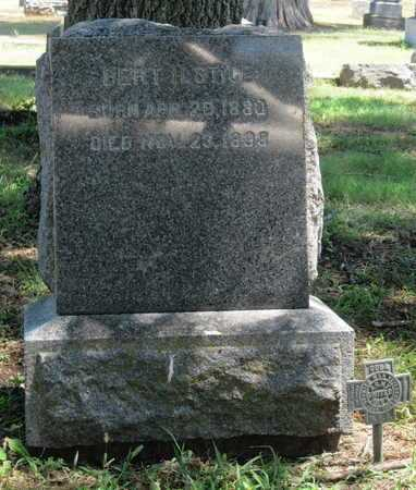 "STICE, BERTRAM H ""BERT""   (VETERAN SAW) - Labette County, Kansas | BERTRAM H ""BERT""   (VETERAN SAW) STICE - Kansas Gravestone Photos"