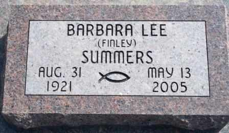 FINLEY SUMMERS, BARBARA LEE - Labette County, Kansas | BARBARA LEE FINLEY SUMMERS - Kansas Gravestone Photos