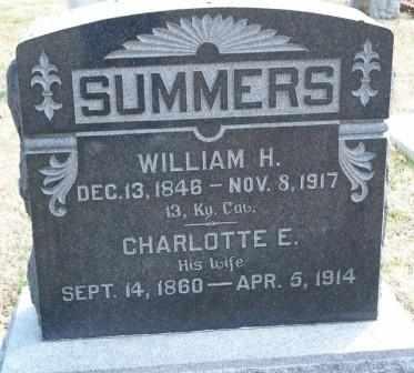 LANDRUM SUMMERS, CHARLOTTE ELLEN - Labette County, Kansas | CHARLOTTE ELLEN LANDRUM SUMMERS - Kansas Gravestone Photos
