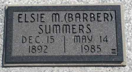 SUMMERS, ELSIE MABEL - Labette County, Kansas | ELSIE MABEL SUMMERS - Kansas Gravestone Photos