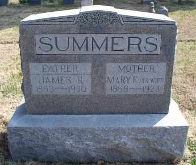 "SUMMERS, MARY ELIZABETH ""POLLY"" - Labette County, Kansas 