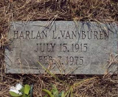 VANBUREN, HARLAN - Labette County, Kansas | HARLAN VANBUREN - Kansas Gravestone Photos