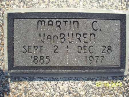 VANBUREN, MARTIN C - Labette County, Kansas | MARTIN C VANBUREN - Kansas Gravestone Photos