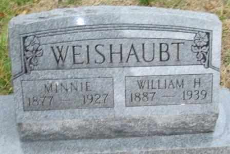 WEISHAUBT, MINNIE - Labette County, Kansas | MINNIE WEISHAUBT - Kansas Gravestone Photos