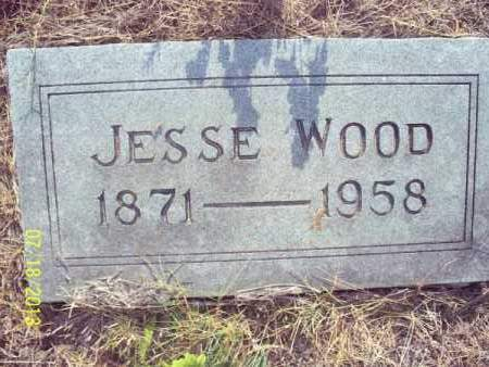 WOOD, JESSE - Labette County, Kansas | JESSE WOOD - Kansas Gravestone Photos