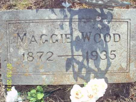 WOOD, MAGGIE - Labette County, Kansas | MAGGIE WOOD - Kansas Gravestone Photos