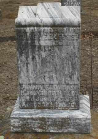 YOUNGBLOOD, ANNA E - Labette County, Kansas   ANNA E YOUNGBLOOD - Kansas Gravestone Photos
