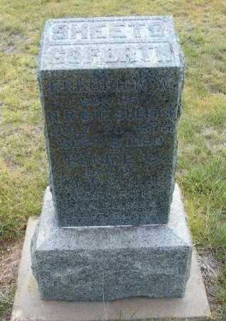 SHEETS, FREDRICK W - Lane County, Kansas | FREDRICK W SHEETS - Kansas Gravestone Photos