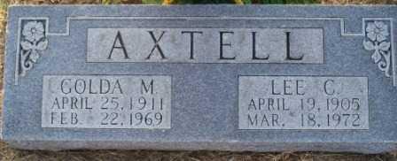 BROWN AXTELL, GOLDA M - Leavenworth County, Kansas | GOLDA M BROWN AXTELL - Kansas Gravestone Photos