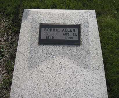 ALLEN, BOBBIE LEE - Leavenworth County, Kansas | BOBBIE LEE ALLEN - Kansas Gravestone Photos