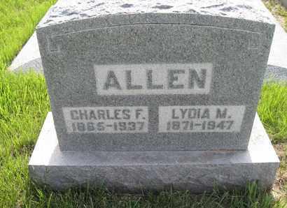 ALLEN, LYDIA MARGARET - Leavenworth County, Kansas | LYDIA MARGARET ALLEN - Kansas Gravestone Photos