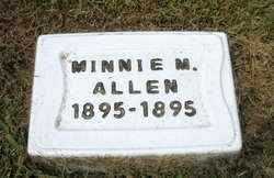 ALLEN, MINNIE MAE (2ND STONE) - Leavenworth County, Kansas   MINNIE MAE (2ND STONE) ALLEN - Kansas Gravestone Photos