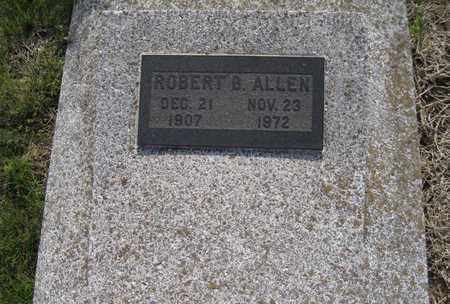 ALLEN, ROBERT BENJAMIN - Leavenworth County, Kansas | ROBERT BENJAMIN ALLEN - Kansas Gravestone Photos