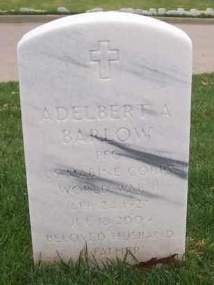 BARLOW, ADELBERT ADDISON   (VETERAN WWII) - Leavenworth County, Kansas | ADELBERT ADDISON   (VETERAN WWII) BARLOW - Kansas Gravestone Photos