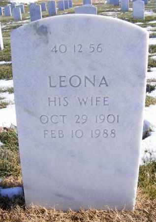 BOONE, LEONA - Leavenworth County, Kansas   LEONA BOONE - Kansas Gravestone Photos
