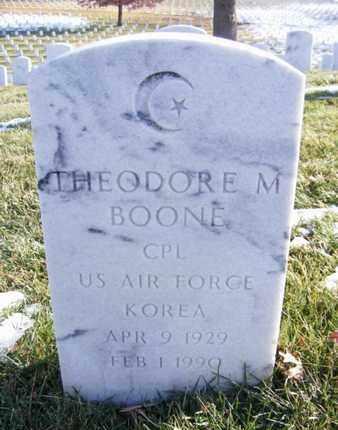 BOONE, THEODORE MARION  (VETERAN KOR) - Leavenworth County, Kansas | THEODORE MARION  (VETERAN KOR) BOONE - Kansas Gravestone Photos