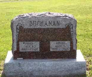 CLEAVINGER BUCHANAN, ALICE EDWARDS - Leavenworth County, Kansas | ALICE EDWARDS CLEAVINGER BUCHANAN - Kansas Gravestone Photos