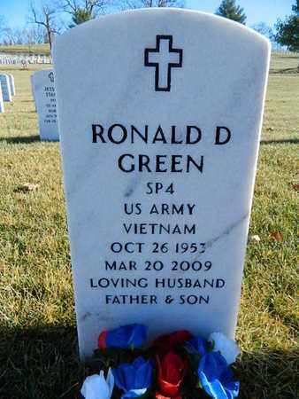 GREEN, RONALD DALE  (VETERAN VIET) - Leavenworth County, Kansas   RONALD DALE  (VETERAN VIET) GREEN - Kansas Gravestone Photos