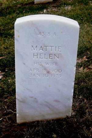 HARVEY, MATTIE HELEN - Leavenworth County, Kansas   MATTIE HELEN HARVEY - Kansas Gravestone Photos