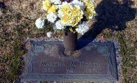 BUTZIN KORTH, MARTHA MARIE - Leavenworth County, Kansas | MARTHA MARIE BUTZIN KORTH - Kansas Gravestone Photos