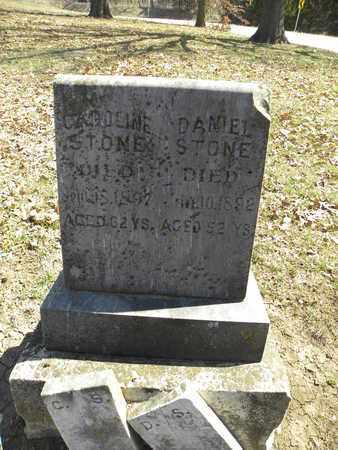 STONE, DANIEL - Leavenworth County, Kansas | DANIEL STONE - Kansas Gravestone Photos