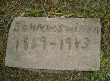 SWISHER, JOHN W - Leavenworth County, Kansas | JOHN W SWISHER - Kansas Gravestone Photos