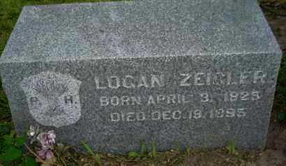 ZEIGLER, LOGAN - Leavenworth County, Kansas | LOGAN ZEIGLER - Kansas Gravestone Photos