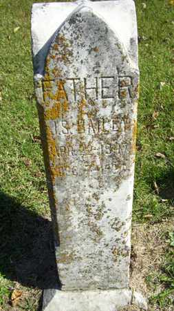 BAILEY, JOHN SAMUEL - Lyon County, Kansas | JOHN SAMUEL BAILEY - Kansas Gravestone Photos