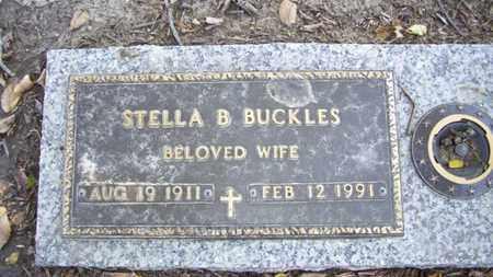 BUCKLES, STELLA B - Lyon County, Kansas | STELLA B BUCKLES - Kansas Gravestone Photos