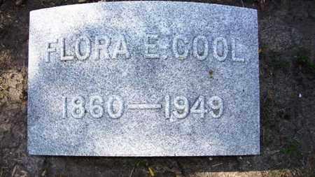 COOL, FLORA E - Lyon County, Kansas   FLORA E COOL - Kansas Gravestone Photos
