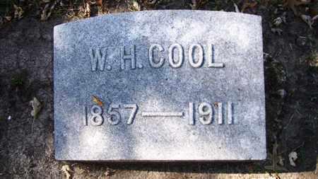 COOL, W H - Lyon County, Kansas   W H COOL - Kansas Gravestone Photos