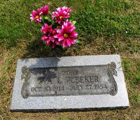 BRUMBAUGH FLEEKER, EVA LILLIAN - Lyon County, Kansas | EVA LILLIAN BRUMBAUGH FLEEKER - Kansas Gravestone Photos