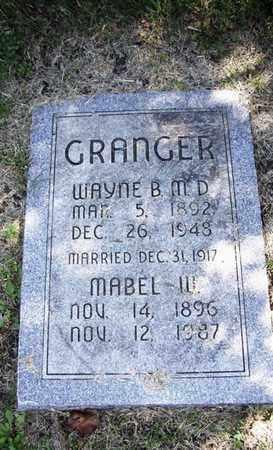 WILLIS GRANGER, MABEL CLAIR - Lyon County, Kansas | MABEL CLAIR WILLIS GRANGER - Kansas Gravestone Photos