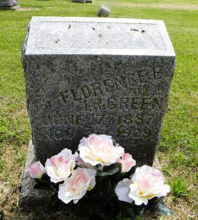 JONES GREEN, FLORENCE EURETTA - Lyon County, Kansas | FLORENCE EURETTA JONES GREEN - Kansas Gravestone Photos