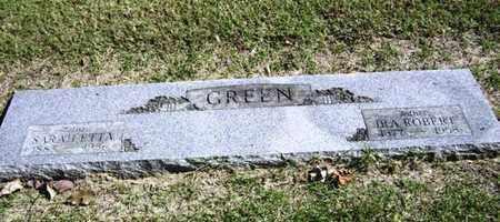GREEN, SARAH ETTA - Lyon County, Kansas   SARAH ETTA GREEN - Kansas Gravestone Photos