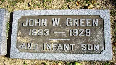 GREEN, JOHN WIZER - Lyon County, Kansas | JOHN WIZER GREEN - Kansas Gravestone Photos